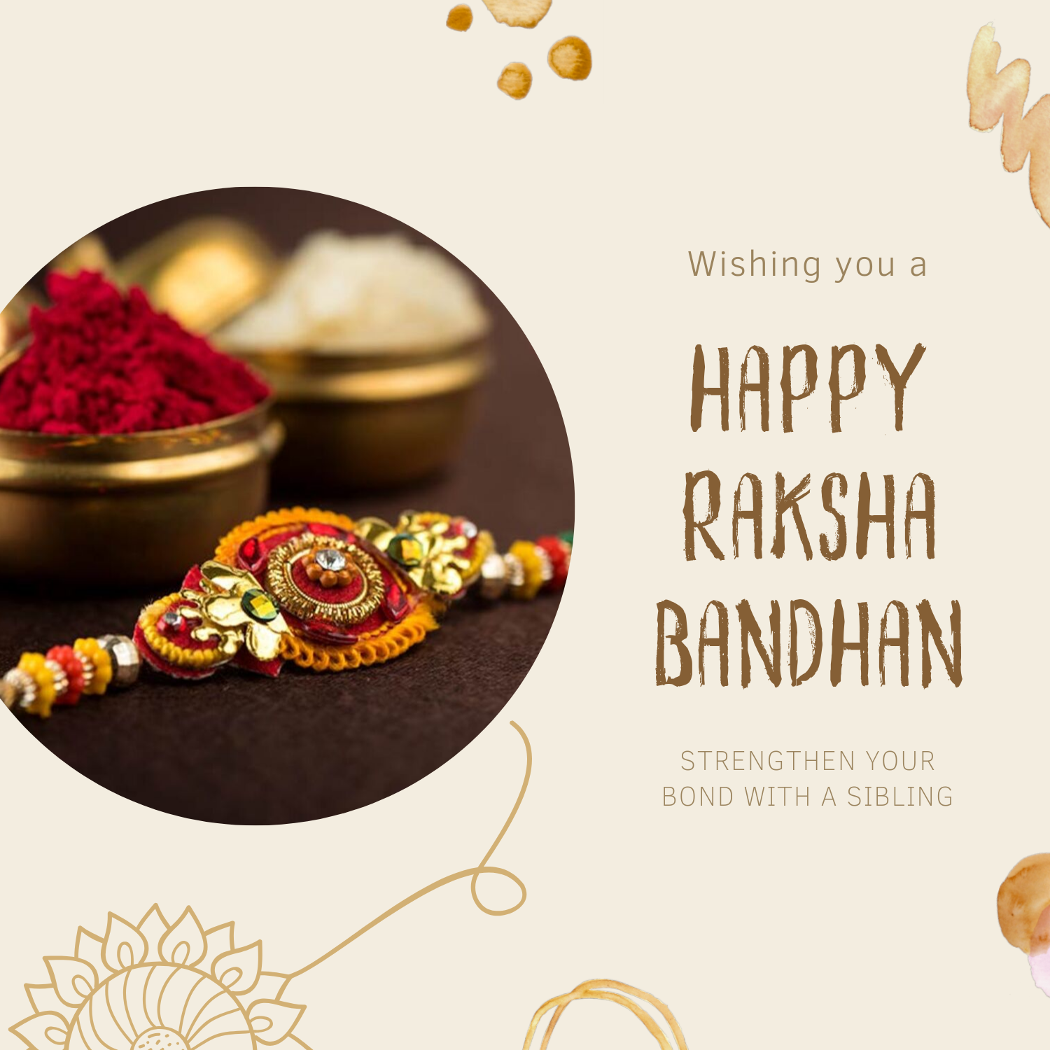 Raksha Bandhan Blessing Quotes For Brother